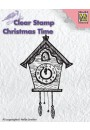 CT012 clear stamp Christmas time