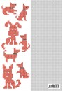 "CCPAT020 Crosscraft free pattern-20 ""dogs"" patronen 20"