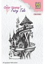 "FTCS010 Clear stamps Fairy Tale ""summer castle"""