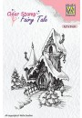 "FTCS011 Clear stamps Fairy Tale ""winter castle"""