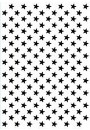 "HSFC008 Hobby Solution Christmas Embossing Folder ""background stars"""