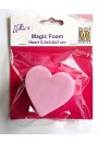 NMMMF006 Magic Foam block heart-shape
