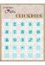 SCCD003 Snellen Crafts Click Dies Numbers & punctuation marks