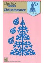 "SDB063 Shape Dies Blue ""Christmas tree & baubles"""