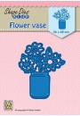 "SDB081 Shape Dies Blue ""Flower vase"""