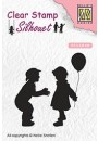 "SIL046 Clear stamps Silhouette ""balloon"""