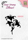 "SIL052 Clear stamps silhouet ""lilies"""