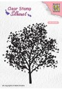 """SIL063 Silhouet clear stamps """"tree"""""""