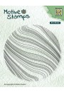 """TXCS014 texture clear stamps """"Waves"""""""